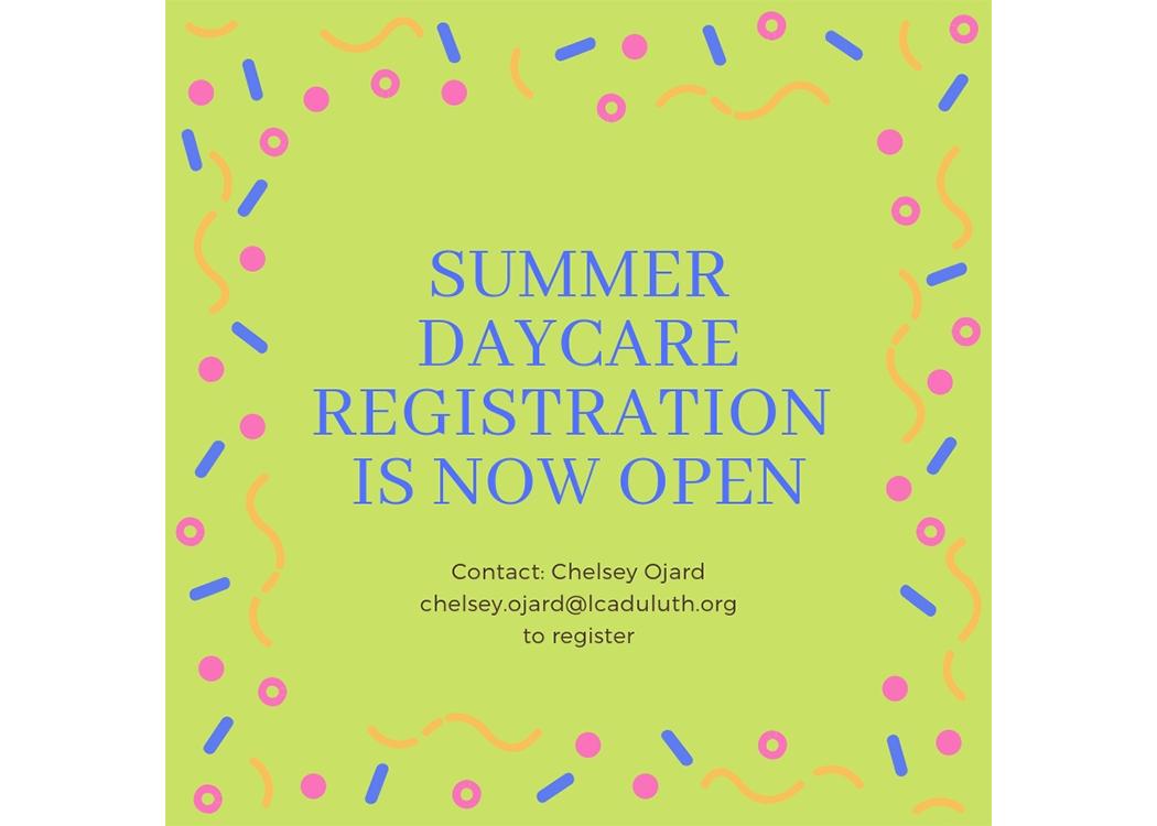 Summer Daycare - wider